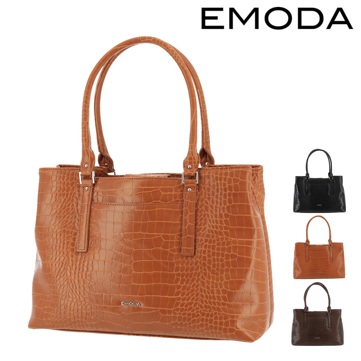 エモダ トートバッグ 横型 肩掛け A4 レディース EM-9305 EMODA | 軽量 ビジネス [PO5][bef]