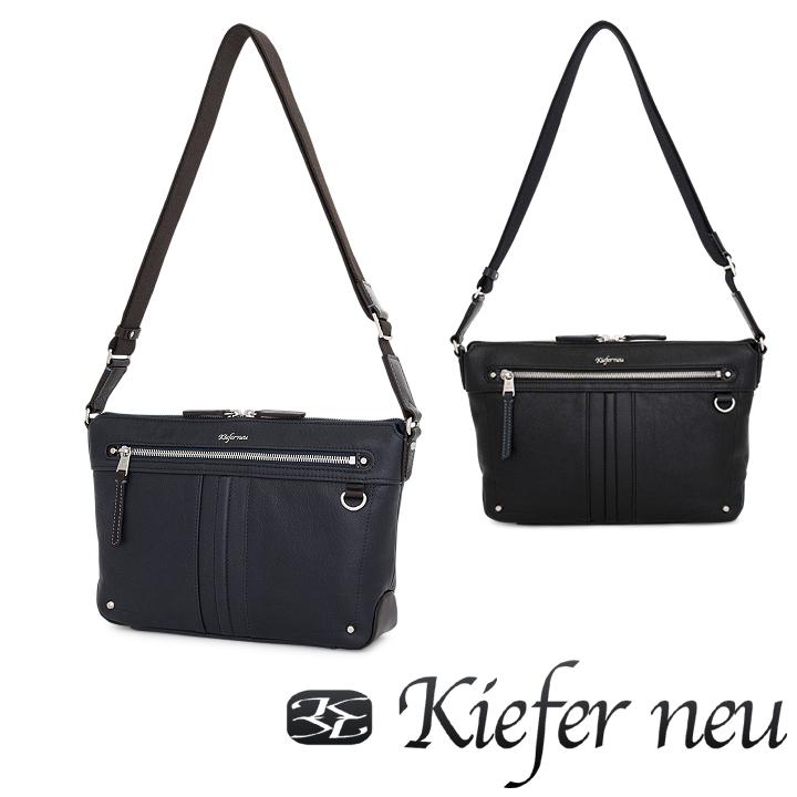キーファーノイ Kiefer neu ショルダーバッグ KFN4303C Creare 【 ビジネスバッグ カジュアルバッグ メンズ レザー 】【bef】