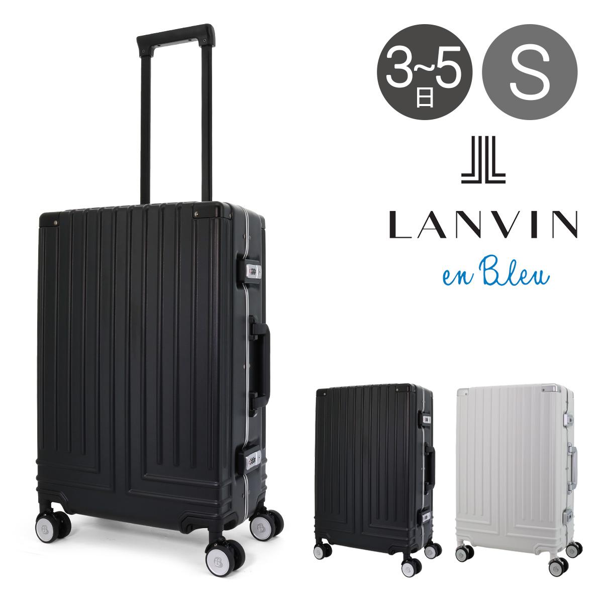 ランバンオンブルー スーツケース 595312 56cm 【 LANVIN en Bleu ヴィラージュ 】【 キャリーケース キャリーバッグ ビジネスキャリー フレーム 】[bef][即日発送]