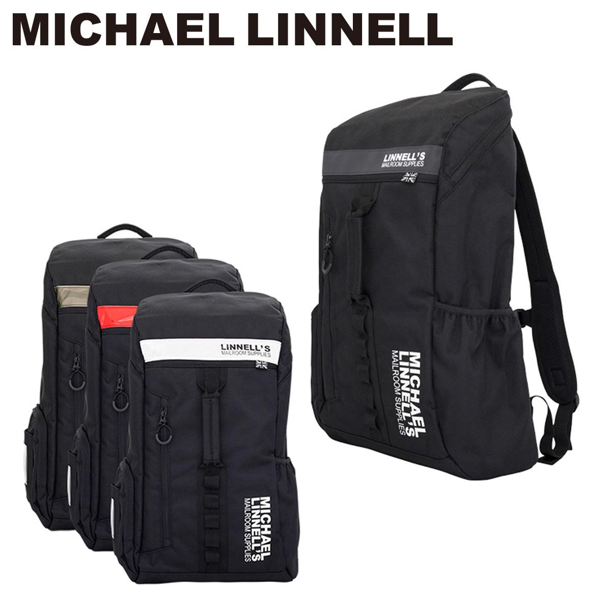 マイケルリンネル MICHAEL LINNELL リュック ML-012 【 リュック リフレクター 1680デニールの丈夫なポリエステル バックジップ 大容量26L 】【bef】