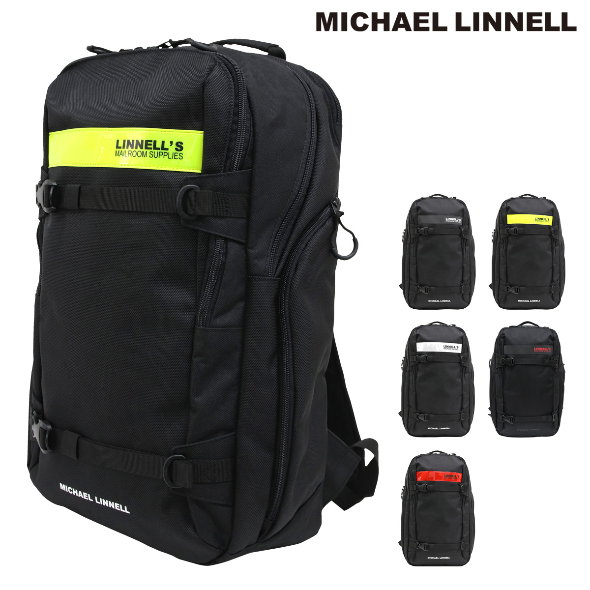 マイケルリンネル リュック 29L メンズ レディース ML-030 MICHAEL LINNELL | リュックサック