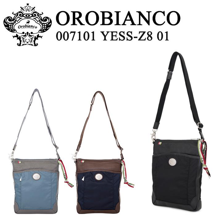 オロビアンコ ショルダーバッグ 007101 YESS-Z8 01 NYLON 【 メンズ 】 【 OROBIANCO 】[bef][即日発送]