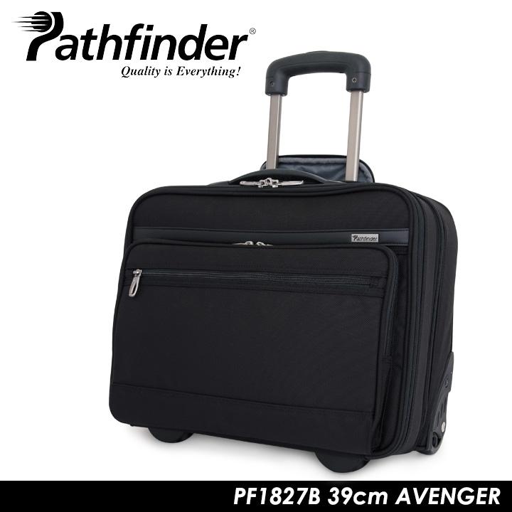 パスファインダー スーツケース PF1827B 39cm AVENGER 【 Pathfinder ビジネスキャリー ソフトキャリー ダイヤル式TSAロック 機内持ち込み可能 】【bef】