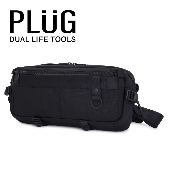 プラグ PLUG ボディバッグ PLG-303 Solid メッセンジャーバッグ メンズ [bef][PO5][即日発送]