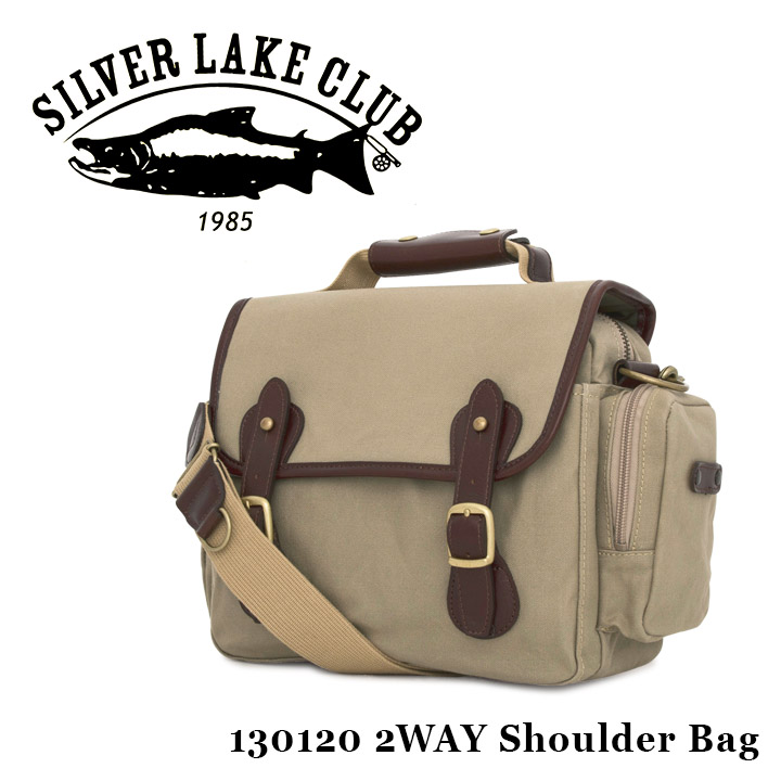 シルバーレイククラブ SILVER LAKE CLUB ショルダーバッグ 130120 9号帆布 【 2WAY カメラバッグ ハンドバッグ メンズ 撥水性 】[bef]