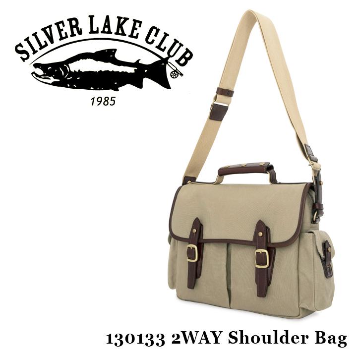 シルバーレイククラブ SILVER LAKE CLUB ショルダーバッグ 130133 9号帆布 【 2WAY ハンドバッグ メンズ 撥水性 】[bef]