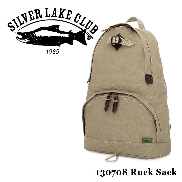 シルバーレイククラブ SILVER LAKE CLUB リュック 130708 9号帆布 【 リュックサック メンズ 撥水性 】[bef]