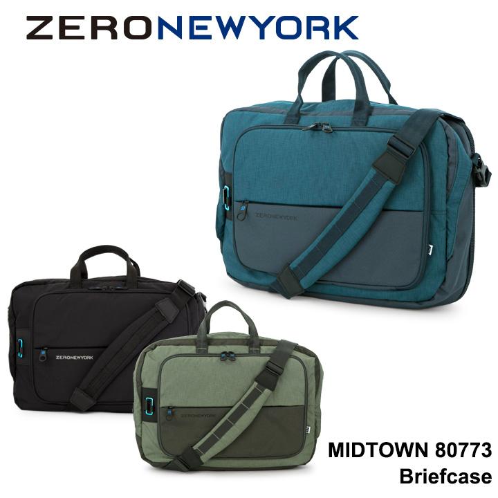 ゼロニューヨーク ZERO NEWYORK ブリーフケース 80773 MIDTOWN 【 2way ビジネスバッグ ショルダーバッグ セットアップ キャリーオンバッグ 】【bef】
