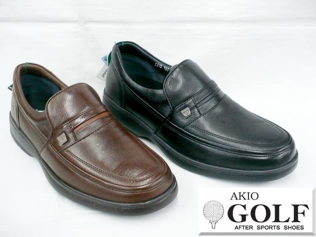 AKIO GOLF アキオ ゴルフ 2213 メンズ メンズ レザー アキオ ゴルフ カジュアルシューズ ビジネスシューズ ウォーキングシューズ ソフトキッド(山羊革), タケノチョウ:c525e1fd --- sunward.msk.ru