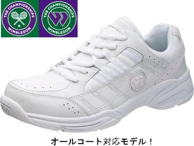 朝日WIMBLEDON温布尔登WM-4000白上学鞋中学生高中生体育学校