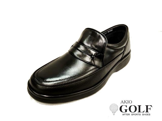 AKIO GOLF アキオ ゴルフ 3401 メンズ レザー カジュアルシューズ ビジネスシューズ