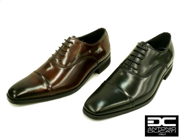 DC ANTONIO DUCATI アントニオ ドゥカティ 7071 メンズ ビジネスシューズ ストレートチップ 本革