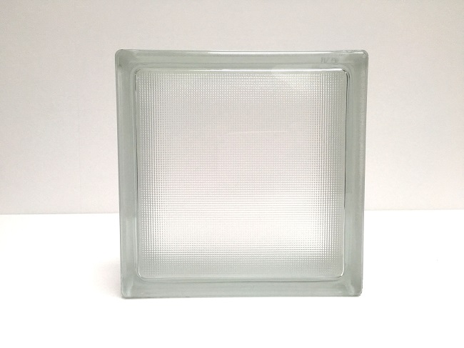 NEW!ガラスブロック【クリアスタイル】/サンバ/10個セット商品(W190×H190×D80mm)【チェコ製ガラスブロック】