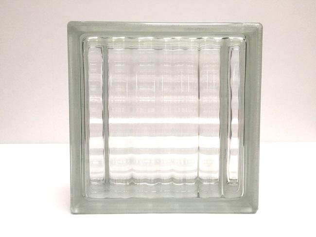 NEW!ガラスブロック【クリアスタイル】/ラティス/5個セット商品(W190×H190×D80mm)【チェコ製ガラスブロック】