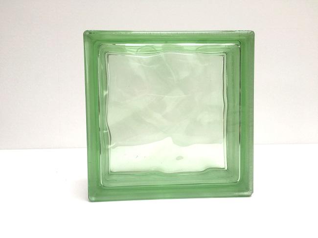 格安新品  新商品!ガラスブロック【クリスタルスタイル】/クリスタルグリーン/40個セット商品(W190×H190×D80mm)【チェコ製ガラスブロック】:東京ガーデニングスタイル-エクステリア・ガーデンファニチャー