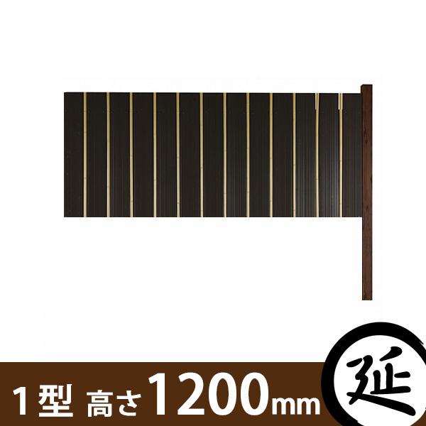 【やまと塀(大和塀)】スタイルやまと塀1型 延長セット 幅1800×高さ1200mm