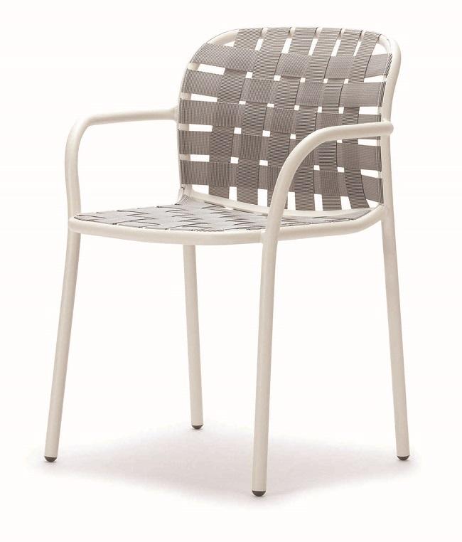 イタリア製 emu(エミュー)/YARD ARM CHAIR【商品名:ヤードアームチェア】アスプルンド社|エミュー社製ガーデン家具