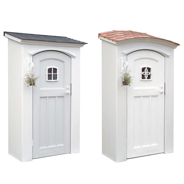 商品名:ディーズシェッドカンナシュガー【省スペース おしゃれに飾る収納スペース デザイン物置】