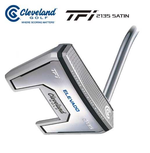 クリープランドゴルフ TFi 2135 SATIN ELEVADOパター マレットタイプ Cleveland GOLF