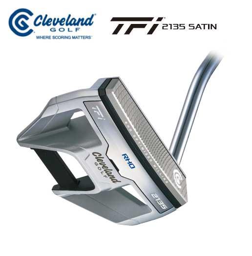 クリープランドゴルフ TFi 2135 SATIN RHOパター マレットタイプ Cleveland GOLF