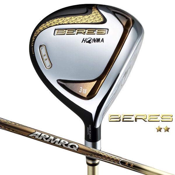 HONMA 本間ゴルフ BERES フェアウェイウッド ベレス New ARMRQ 47 2Starシャフト(2019年モデル)