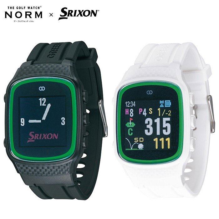 ザ・ゴルフウォッチ スリクソン ゴルフ距離計 SRIXONロゴ入りオリジナル GPSナビ GGF-M0001 ノルム
