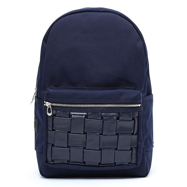 リュックサック 本革 バックパック メンズ レディース レザー 鞄 ブルー ネイビー 青色 日本製 ブランド おしゃれ カバン かわいい 大人 高級 通学 シンプル 上品 国産 デイパック O BACK NEST CARRYNEST(キャリーネスト)