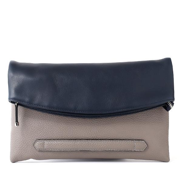 クラッチバッグ メンズ 本革 日本製 ブランド グレー グレイ 灰色 ねずみ色 小さめ セカンドバッグ ミニ ショルダーバッグ 肩掛け 鞄 カバン 高級 30代 2way ファイブウッズ(FIVE WOODS) HORIZON(ホライズン) #39241
