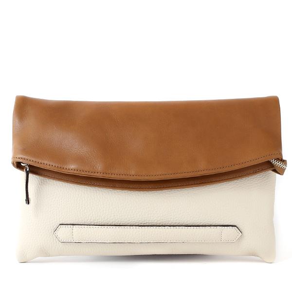 クラッチバッグ メンズ 本革 日本製 ブランド ベージュ 肌色 小さめ セカンドバッグ ミニ ショルダーバッグ 肩掛け 鞄 カバン 高級 30代 2way ファイブウッズ(FIVE WOODS) HORIZON(ホライズン) #39241