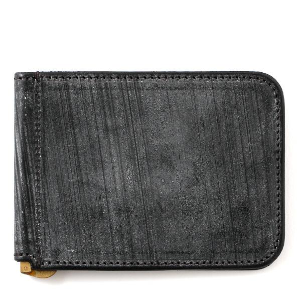 マネークリップ メンズ 本革 ブライドルレザー ブランド ブラック 黒 黒色 カード収納可 お札挟み オールレザー オシャレ 高級 プレゼント ファイブウッズ(FIVE WOODS) CASK(キャスク) #38064