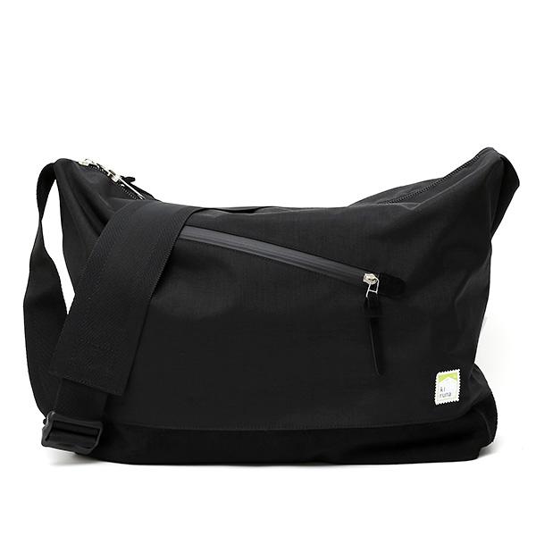 kiruna(キルナ) ショルダーバッグ 日本製 ブラック 黒 黒色 メンズ レディース 斜めがけ カバン 鞄 大人 お洒落 かわいい