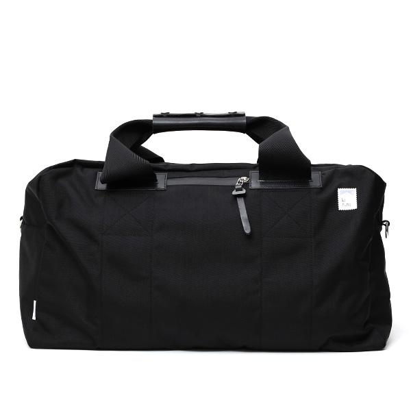kiruna(キルナ) ボストンバッグ 旅行 カバン ブラック 黒 黒色 メンズ レディース 大型 鞄 ショルダー付き ナイロン 2泊 可愛い 大人