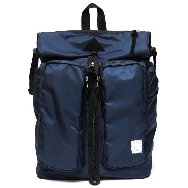リュック 高密度 ナイロン 日本製 メンズ バックパック レディース ブルー ネイビー 青色 おしゃれ 高級 光沢 kiruna(キルナ)