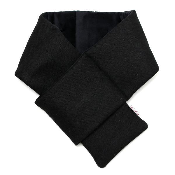 英国ハリスツイード生地を使用した差し込みタイプのマフラー 味わい深い素材感とスマートなシルエットが絶妙にマッチしております マフラー ハリスツイード 差し込みタイプ ネックウォーマー 裏ボア タイムセール 中綿 おしゃれ 冬 暖かい ブラック Tweed 宅配便送料無料 チェック スヌード Harris 防風 防寒 ストール 無地 黒色 黒 KURODA クロダ