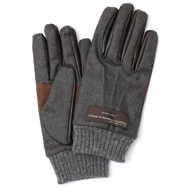 手袋 メンズ レザー 本革 スマホ対応 ダークグレーグレー グレイ 灰色 ねずみ色 スマートフォン対応 タッチパネル対応 操作 可能 羊革(ラムスキン) ゴートスエード(ヤギ革) グローブ おしゃれ 可愛い 人気 ブランド てぶくろ KURODA(クロダ)