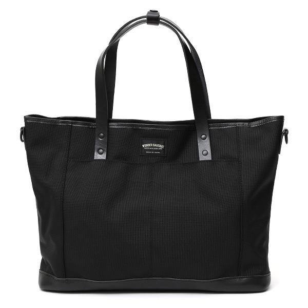 トートバッグ メンズ 本革 日本製 ブランド ブラック 黒 黒色 バリスティックナイロン ビジネスバッグ レディース レザー 鞄 カバン おしゃれ 大人 かわいい ワンダーバゲージ(WONDER BAGGAGE)