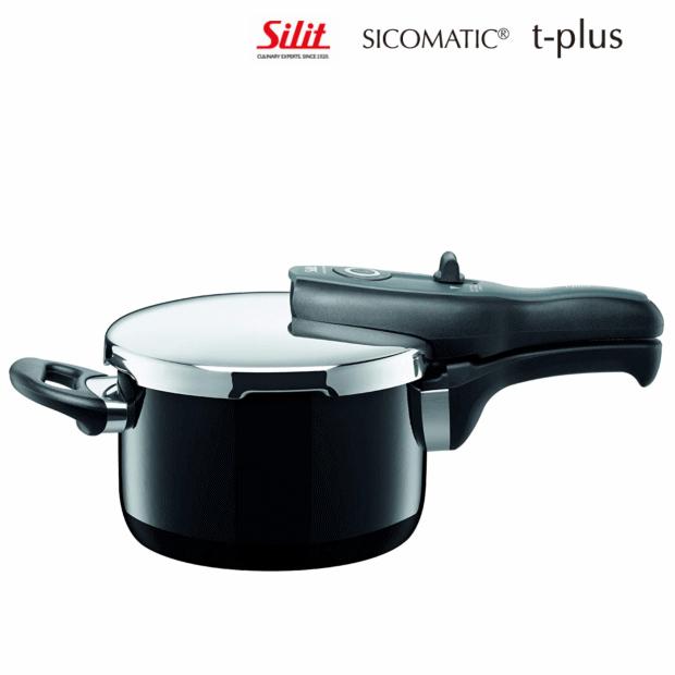 絶妙なデザイン シコマチック Tプラス 2.5L 圧力鍋 シリットシラルガン, 布の店ブーケ:b4f0a53f --- lebronjamesshoes.com.co