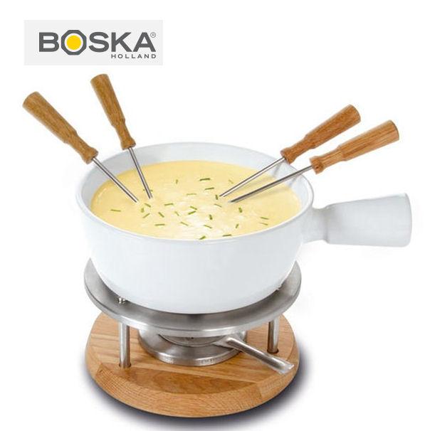 BOSKA フォンデュセット ビアンコ 4人用 フォンデュ鍋 ボスカ 340029