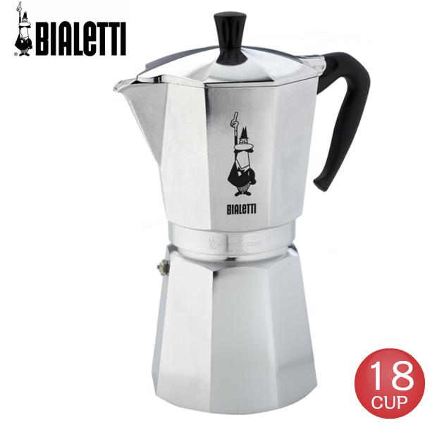 ビアレッティ 18杯用 直火式エスプレッソメーカー モカエクスプレス エスプレッソコーヒーメーカー BIALETTI 1167