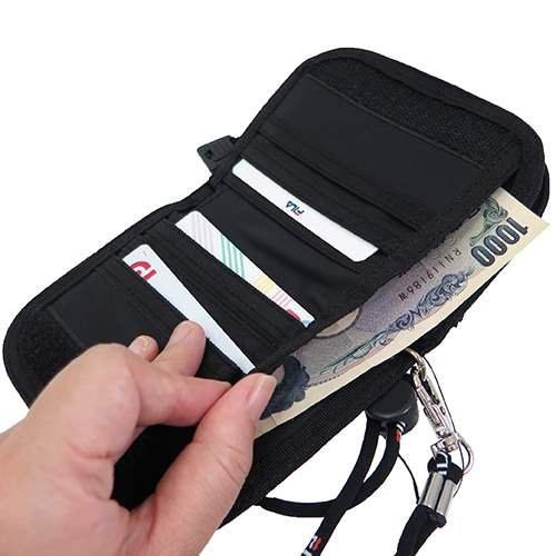 FILA钱包局拉链人钱包Fila对开钱包FILA对开钱包Fila钱包FILA人钱包人对开钱包钱包人礼物礼物父亲节]乐天卡分割