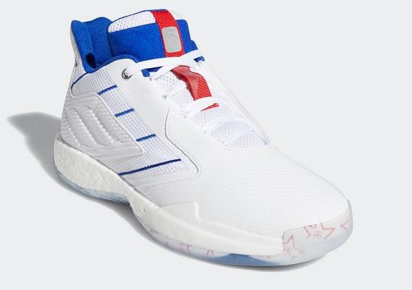 アディダス(adidas) T-MAC Millennium 2.0 バスケットボールシューズ ホワイト×チームロイヤルブルー FV5591