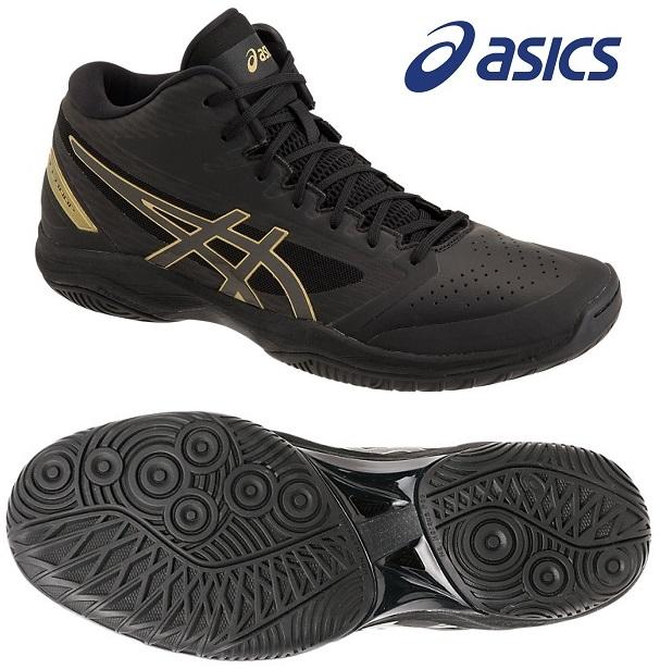 アシックス(asics) GELフープ V11-STANDARD 男女兼用 バスケットボールシューズ ブラック×ブラック 1061A015-005