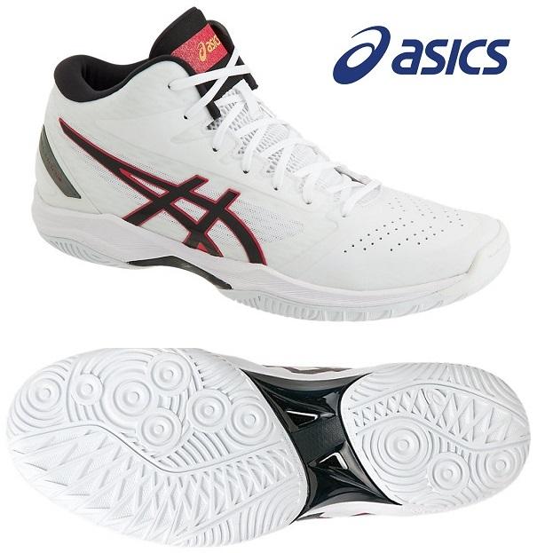 アシックス(asics) GELフープ V11-STANDARD 男女兼用 バスケットボールシューズ ホワイト×ブラック 1061A015-116