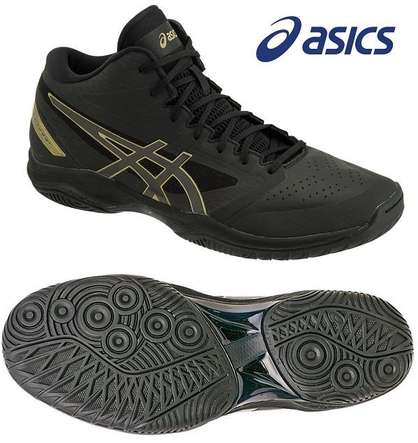 アシックス(asics) GELフープ V11-WIDE 男女兼用 バスケットボールシューズ ブラック×ブラック 1061A017-005