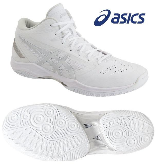 アシックス(asics) GELフープ V11-WIDE 男女兼用 バスケットボールシューズ ホワイト×シルバー 1061A017-119