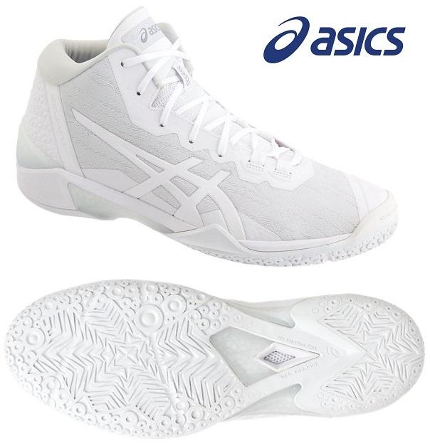 SALE GELBURST アシックス(asics) GELバースト 23 男女兼用 バスケットボールシューズ ホワイト×ホワイト 1061A019-101