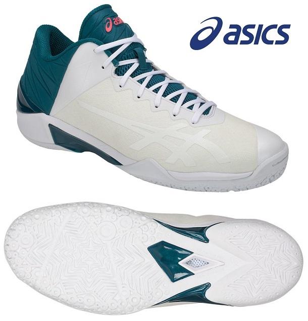 アシックス GELバースト 22 Z 男女兼用 ローカット バスケットボールシューズ ホワイト×ホワイト 1063A001-100