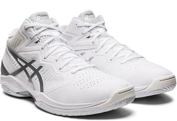 GELHOOP V12 ワイド幅  アシックス(asics) GELフープ V12-WIDE 男女兼用 バスケットボールシューズ ホワイト×ピュアシルバー 1063A020-101