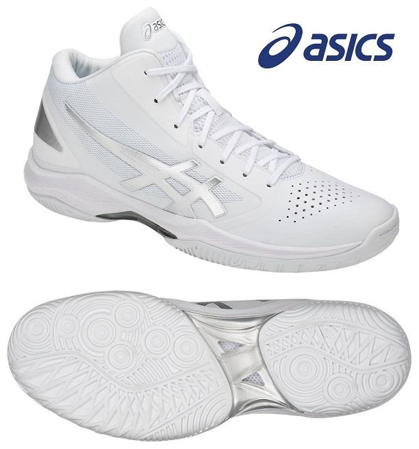 アシックス(asics) GELフープ V10 バスケットボールシューズ ホワイト×シルバー TBF339-0193