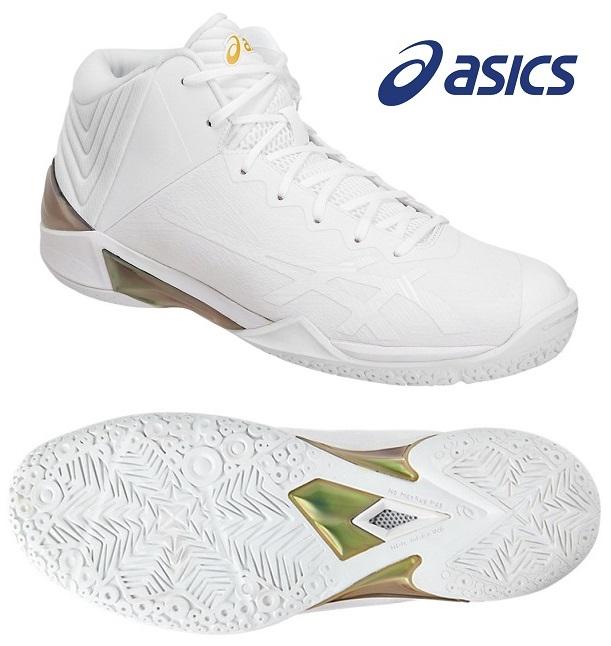 アシックス(asics) GELバースト 22-スリム 男女兼用 バスケットボールシューズ ホワイト×ホワイト TBF33G-0101